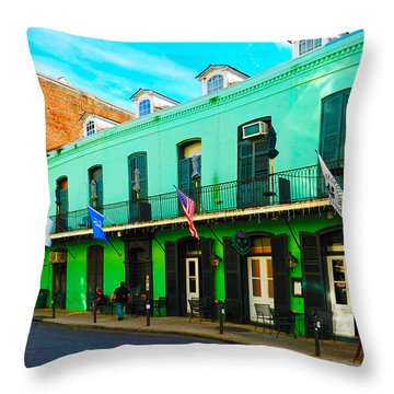 Color Perspective Throw Pillow by Randi Grace Nilsberg