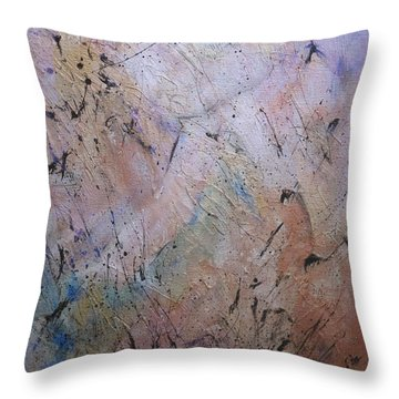 Color Shifts II Throw Pillow