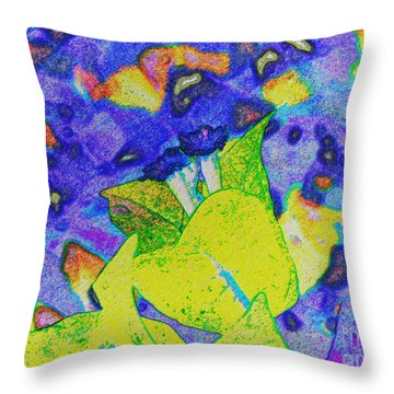 Color Style Throw Pillow
