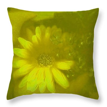 Color Suprise Throw Pillow by Pepita Selles