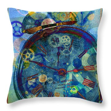 Color Time Throw Pillow