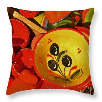 Color Your Life 5 Throw Pillow by Dany Lison