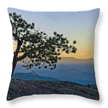 Colorado Sunset Throw Pillow