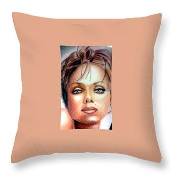 Donald C-note Hooker Throw Pillows