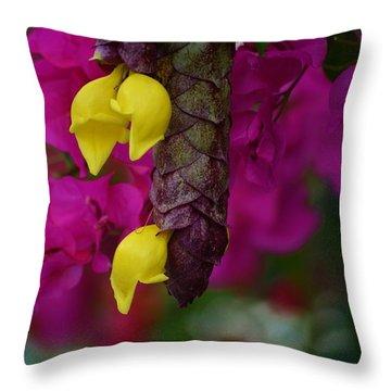 Colorful Abundance Throw Pillow