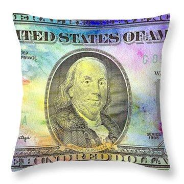 Colorful Benjamin Throw Pillow
