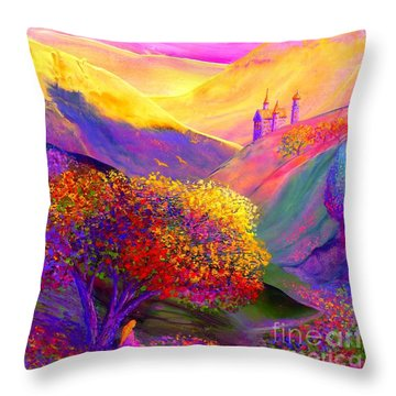 Colorful Enchantment Throw Pillow