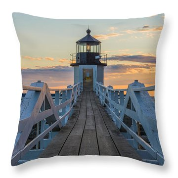 Colorful Ending Throw Pillow