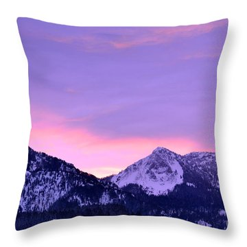 Throw Pillow featuring the photograph Colorful Sunrise No. 1 by Dorrene BrownButterfield
