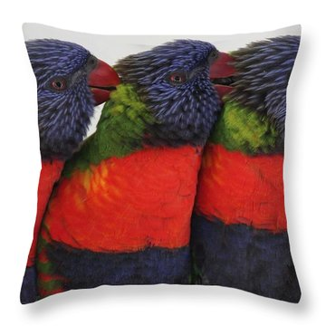 Colorful Therapy Throw Pillow