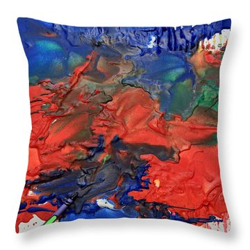 Coloring Book Throw Pillow