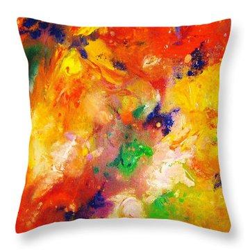 Colors 12-2 Throw Pillow