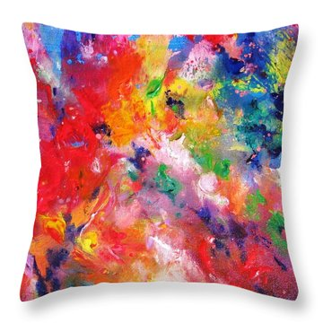 Colors 17-2 Throw Pillow