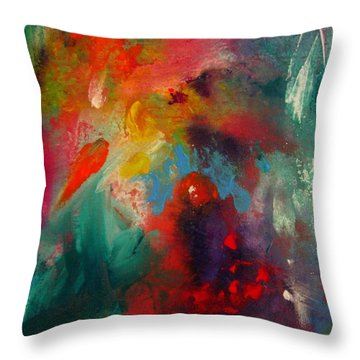 Colors 22 Throw Pillow by Helen Kagan