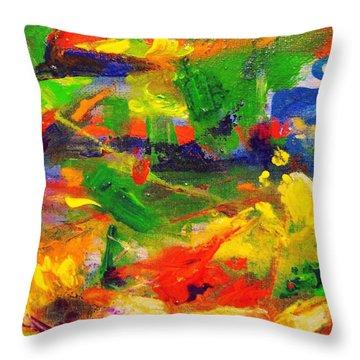 Colors 72 Throw Pillow