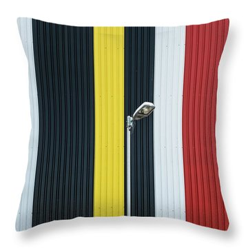 Steel Throw Pillows