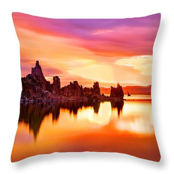 Colors Throw Pillow