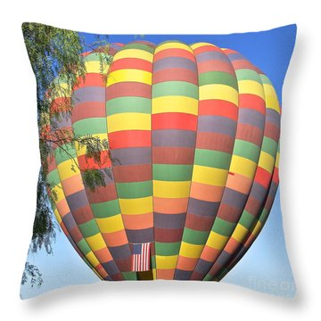 Colors Of America Throw Pillow
