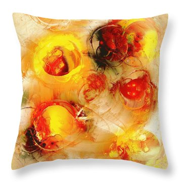 Colors Of Fall Throw Pillow by Anastasiya Malakhova