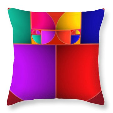 Colors Of Love Throw Pillow