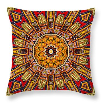 Colors Of Mexico 1 Throw Pillow