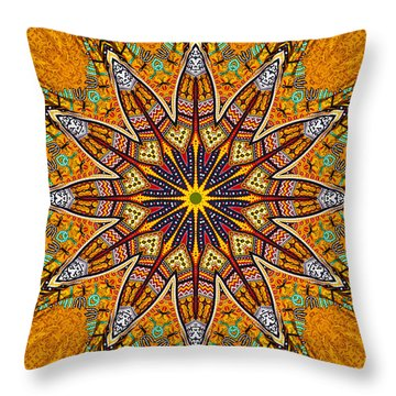 Colors Of Mexico 4 Throw Pillow