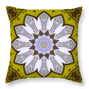 Colors Of Mexico 5 Throw Pillow