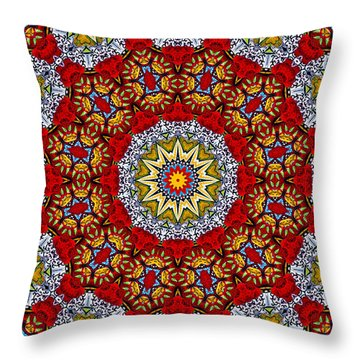 Colors Of Mexico 6 Throw Pillow