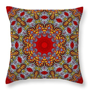 Throw Pillow featuring the photograph Colors Of Mexico 7 by John  Bartosik