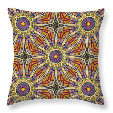 Throw Pillow featuring the photograph Colors Of Mexico 8 by John  Bartosik