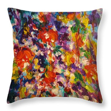 Colors Of My Dream #1 Throw Pillow