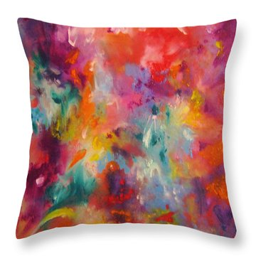 Colors Of My Dream #2 Throw Pillow
