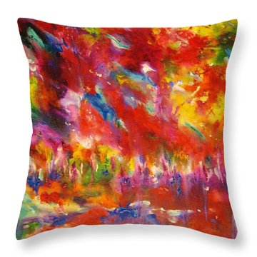 Colors Of My Dream #3 Throw Pillow