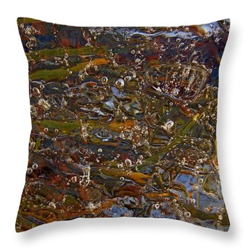 Colors Of Nature 7 Throw Pillow