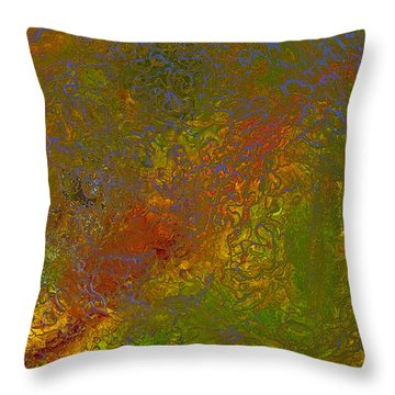 Colors Of Nature 8 Throw Pillow