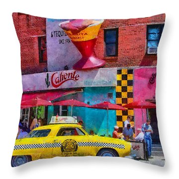 Colors Of New York Throw Pillow