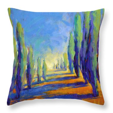 Colors Of Summer 8 Throw Pillow