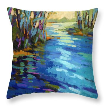 Colors Of Summer 9 Throw Pillow