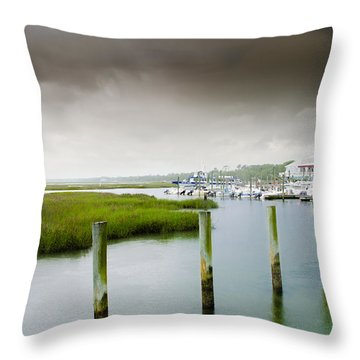 Colors Of The Coast Throw Pillow