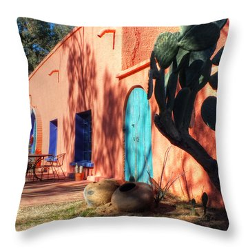 Colors Of The Desert Southwest Throw Pillow