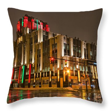 Colors Of The Season Throw Pillow