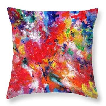 Colorscape 17. Spring Throw Pillow