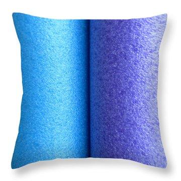 Colorscape Tubes C Throw Pillow