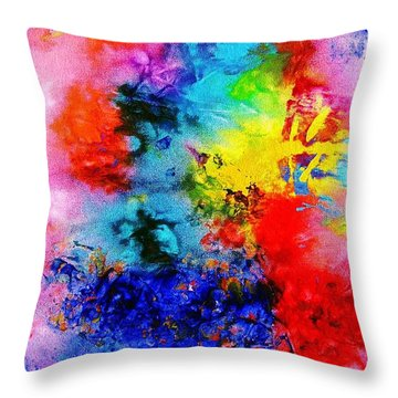 Colorscapes 23 Throw Pillow