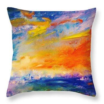 Colorscapes #6 Throw Pillow