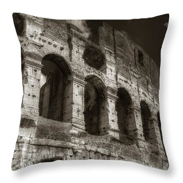 Colosseum Wall Throw Pillow