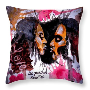 Colossians 3 Vs 14 Throw Pillow