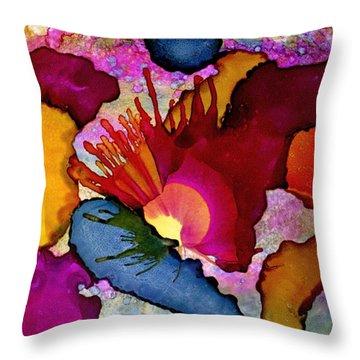 Colour Upon Us 15 Throw Pillow