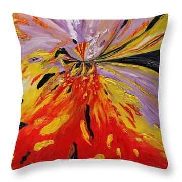 Colourburst Throw Pillow