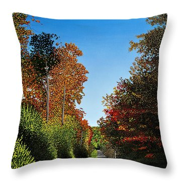 Colours Of Caledon Throw Pillow